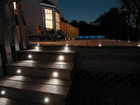 Outdoor LED Lights Installation