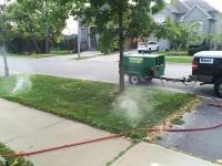 Winterizing sprinkler system